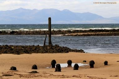 Irvine Beach towards Isle of Arran