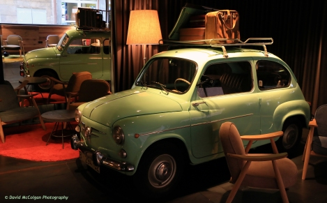 Fiat 500 in Chic and Basic Hotel