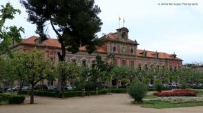 Parlament de Catalunya in Parc de la Ciutadella
