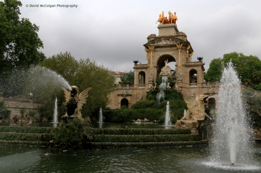 Cascada Monumental in Parc de la Ciutadella