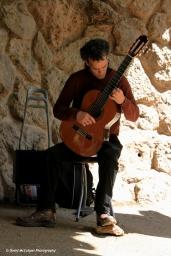 Guitarist at Park Güell