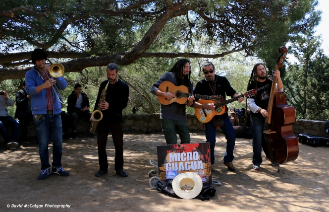 Band at Parc Guell