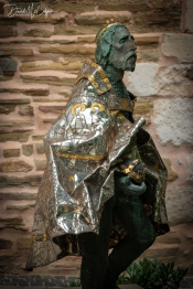 Bronze sculpture of Charlemagne, Aachen Cathedral