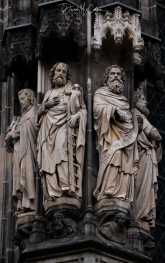 Aachen Cathedral Statues