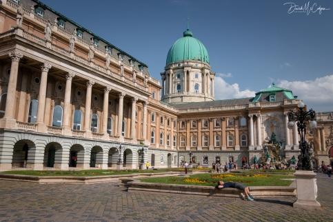Buda Castle Courtyard