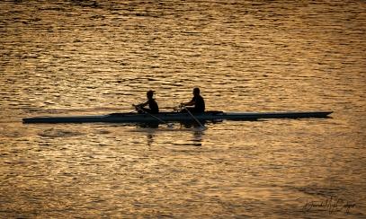 Canoeing at Margaret Island