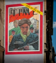 Time Magazine Street Art